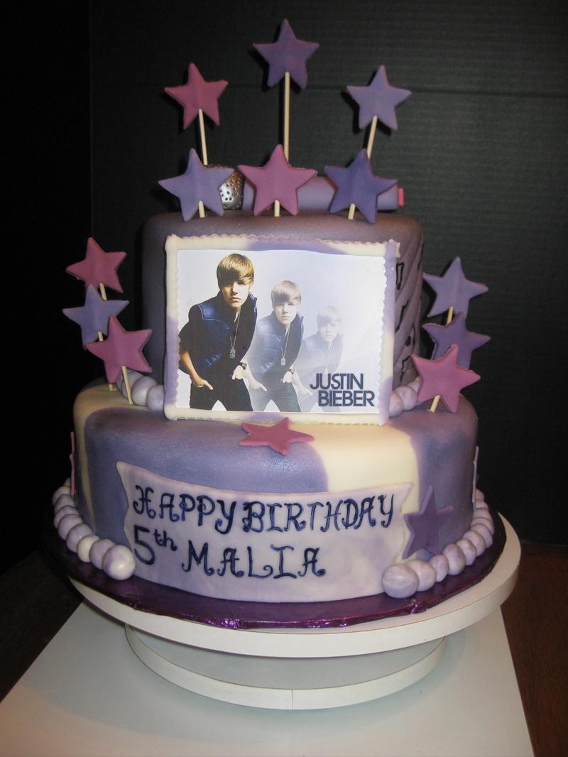 Happy Birthday Malia Cake